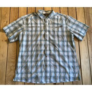 Eddie Bauer Short Sleeve button up shirt